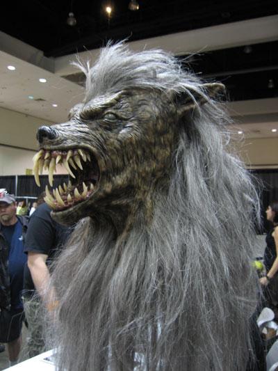 Awesome werewolf mask