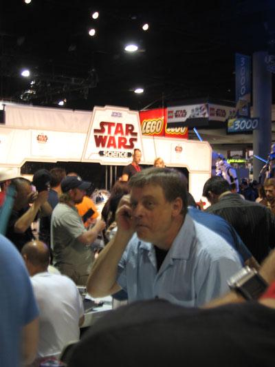 OMG! That's the real Luke Skywalker!