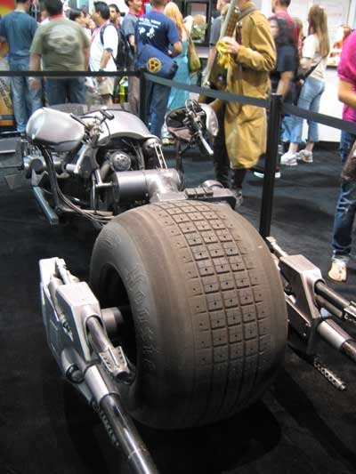 The Dark Knight's motorcycle...The Batpod