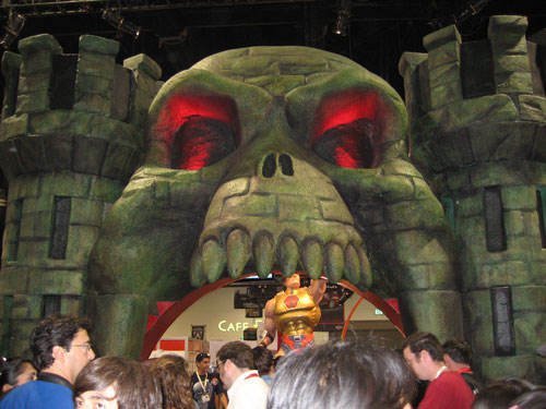 Entrance to Castle Grayskull. I have the POWER!