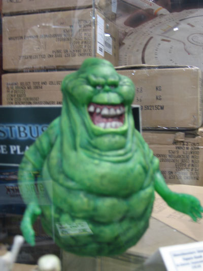 Ghostbusters is making a comeback. It's Slimer