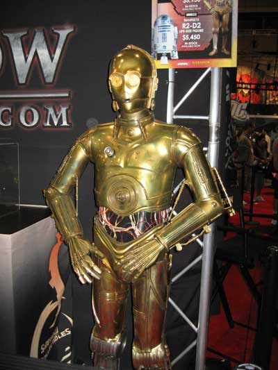 The biggest worry wart of all time...C3P0
