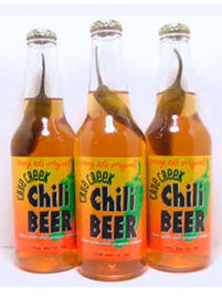 chili beer wow a chili beer if your the type of beer drinker that ...
