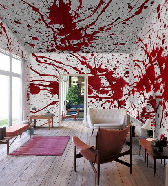 Bloody Home Decor