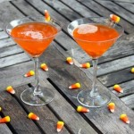 Candy Corn Martini Sweetness