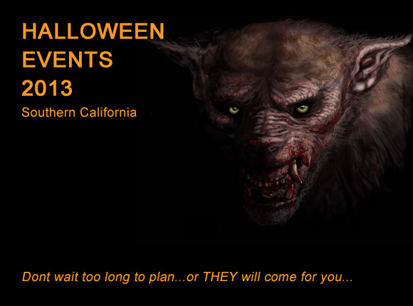 Los Angeles Halloween Events 2013