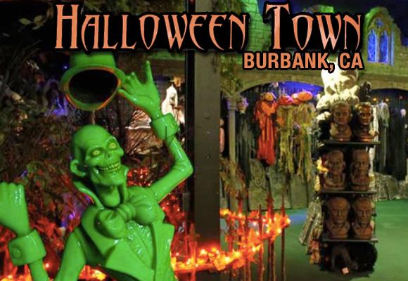 halloween town in burbank ghoulie guide