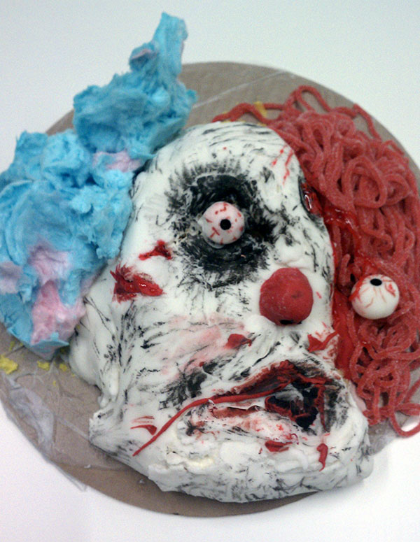 Creepy Clown Cake