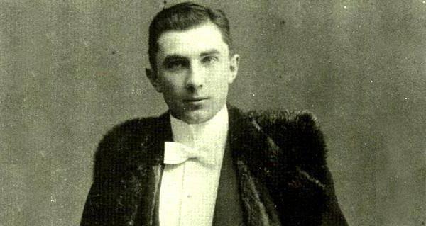 A young Bela Lugosi