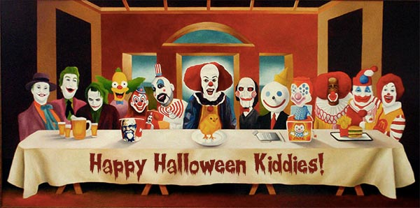 Last Supper of Clowns