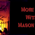 Making Halloween Mason Jars
