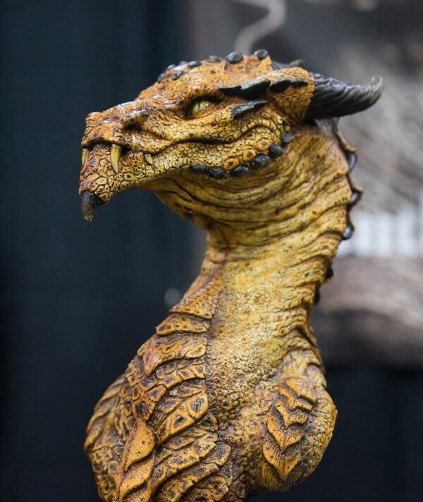 Dragon Sculpture at Monsterpalooza 2016 Pasadena