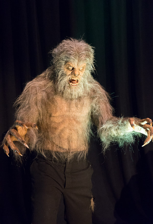 Standing Werewolf Display at Monsterpalooza 2016 Pasadena
