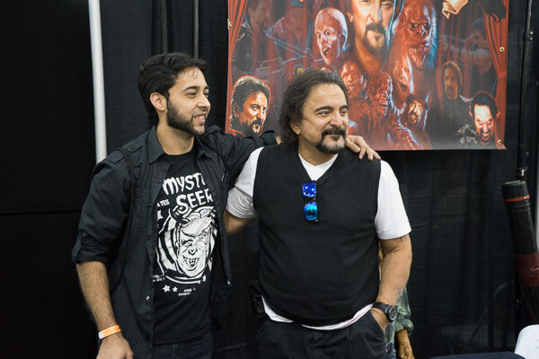 Tom Savini at Monsterpalooza 2016 Pasadena