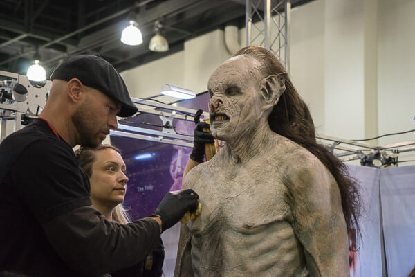 Monster Makeup at Monsterpalooza 2016 Pasadena