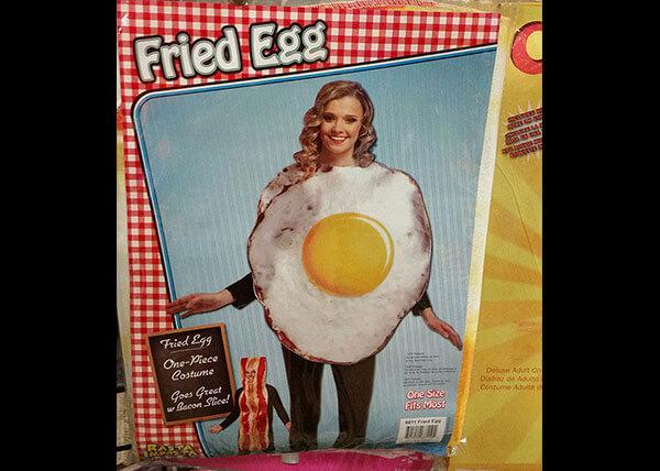 Fried Egg Costume