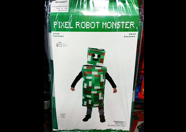 Pixel Robot Costume