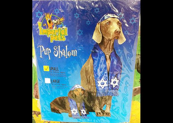 Pup Shalom Costume