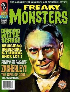 Famous Monsters of Filmland Zacherley Issue