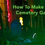 How To Build A Cemetery Gate For Halloween