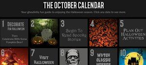 The October Calendar