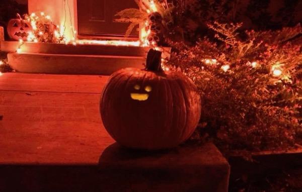 Sad Little Faced Pumpkin