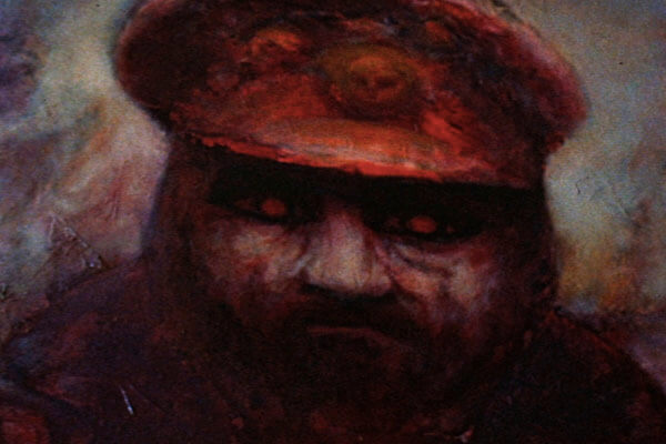 The eerie painting of Captain Usher