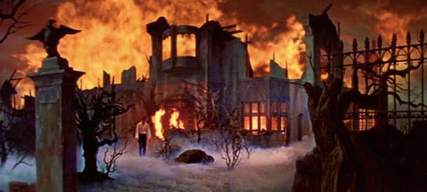 The fiery fall of the House of Usher