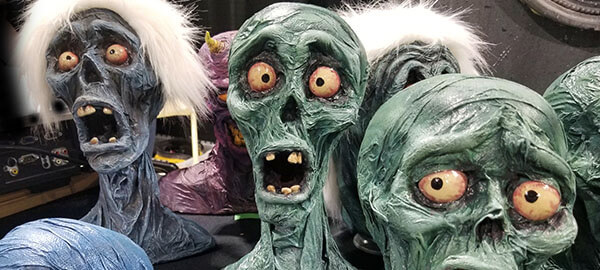 Midsummer Scream ghoulish busts