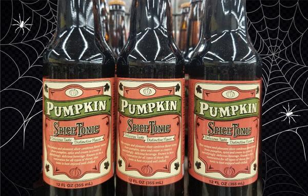 Pumpkin Spice Tonic