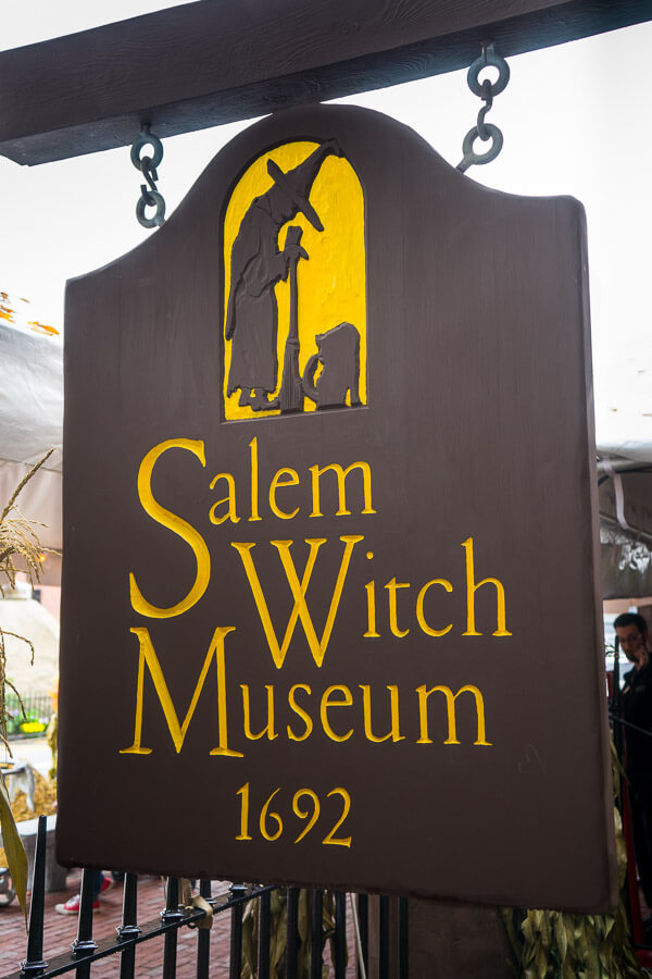 Salem Witch Museum 1692