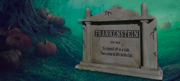 How To Build Halloween Tombstones