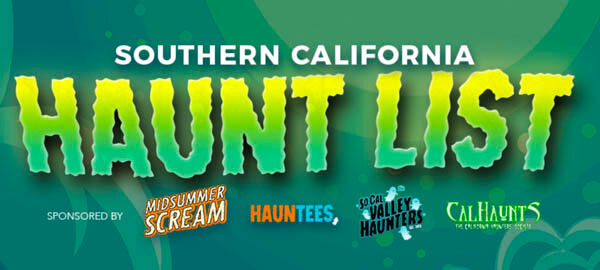 SoCal Haunt List 2020