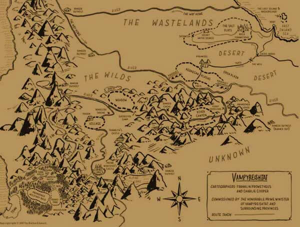 Map of Monsterland