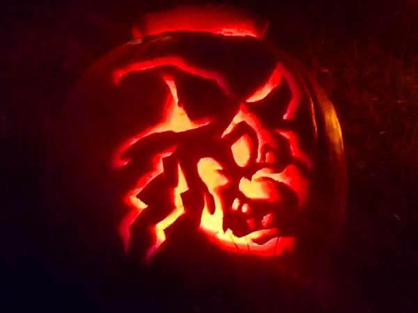 broom hilda pumpkin